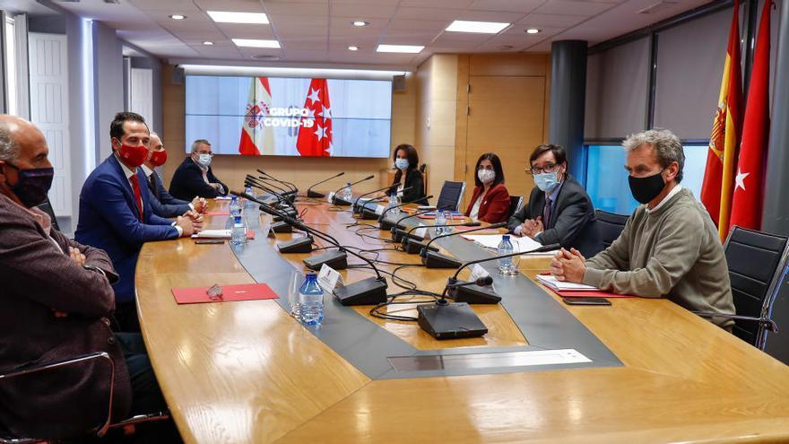 Madrid acepta revisar cada día con Sanidad los datos de la pandemia