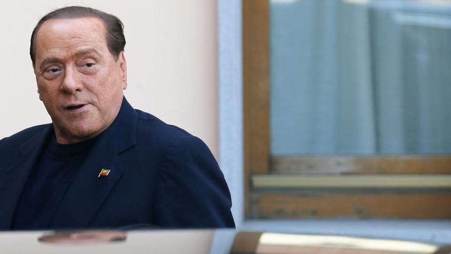 Berlusconi mejora con la terapia contra el coronavirus
