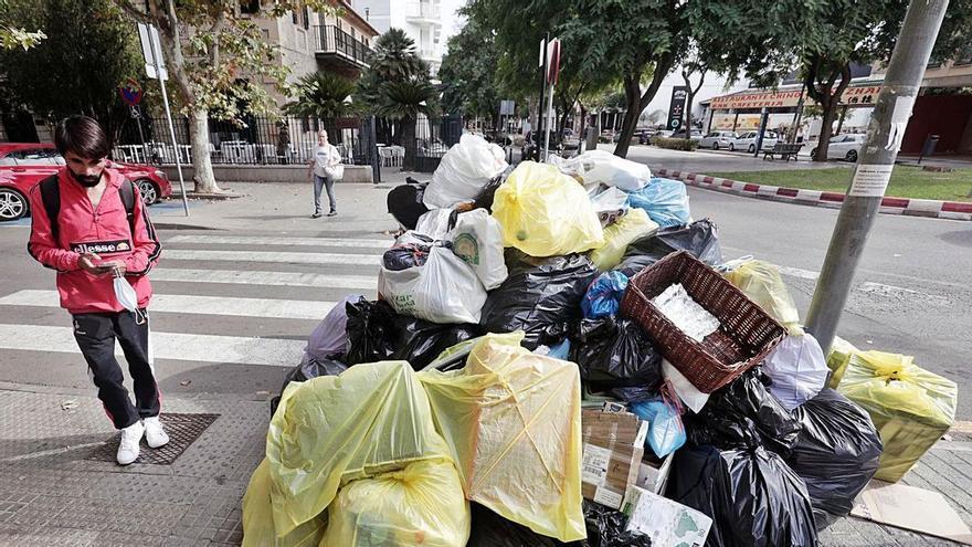 Huelga de basuras | Crónica de los días en que Mallorca olió mal
