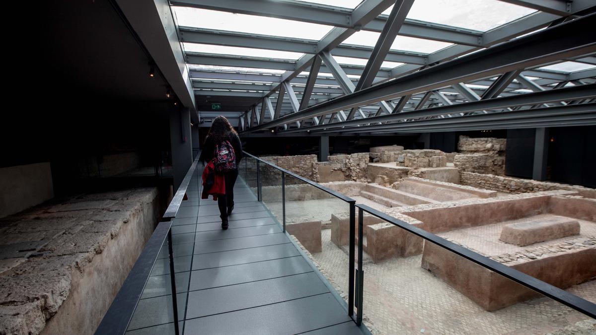 Interior del Centro Arqueológico de l'Almoina