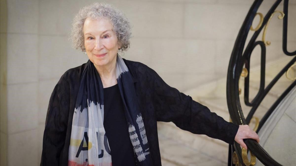 Margaret Atwood, en la Bienal de Pensamiento de BCN