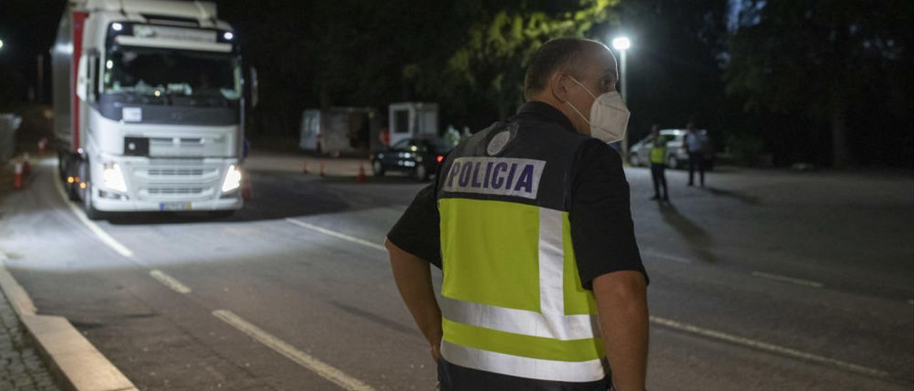 Apertura de las fronteras entre España y Portugal en Zamora