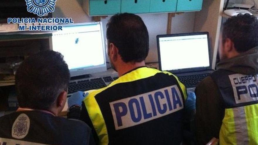 40 detinguts en un macro operatiu contra una xarxa que intercanviava material pedòfil