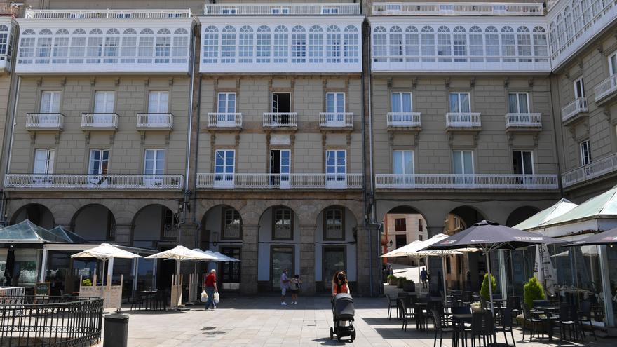 El Superior confirma el veto a las oficinas en los primeros pisos de la plaza de María Pita