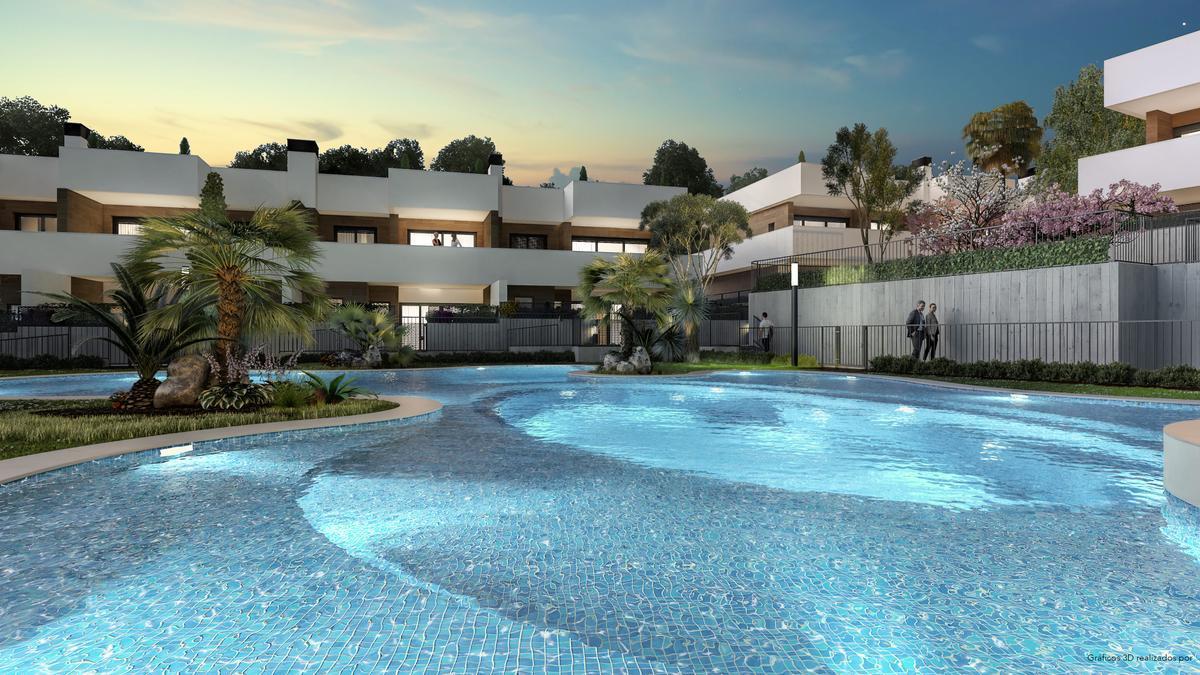 Amura Village: nuevos chalets adosados de lujo en Vistahermosa Norte
