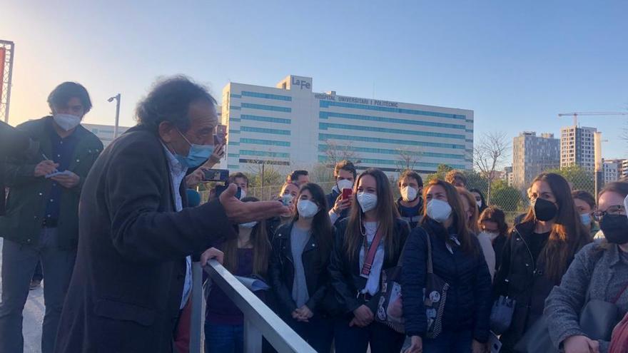 """Miguel Soler, al personal educativo:  """"Intentaremos reconducir el proceso"""""""