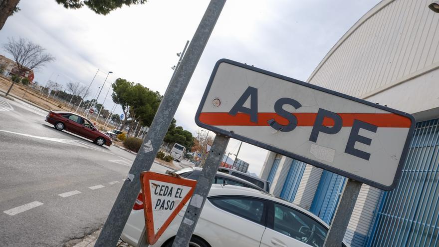 Cambio de estacionamiento en 55 calles de Aspe