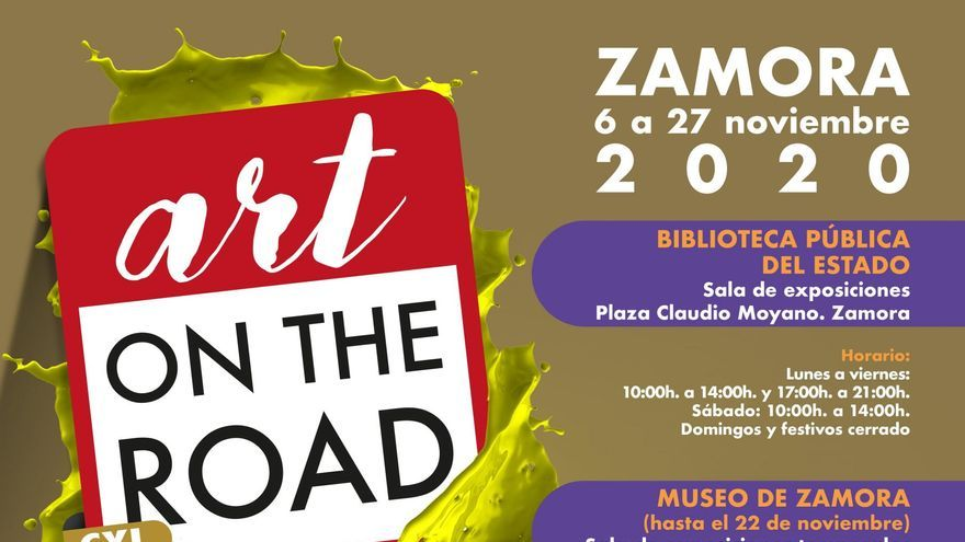Visita diaria - Exposición - Art on the road