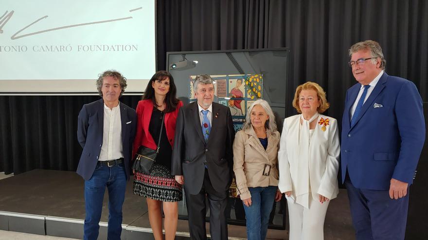 El pintor Antonio Camaró presenta en Madrid su fundación internacional
