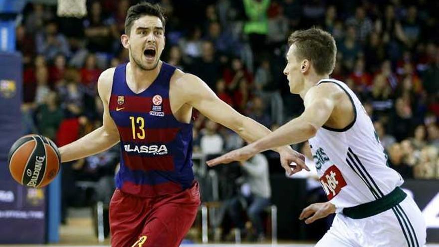 El Barcelona coge aire en Europa tras ganar a Zalgiris