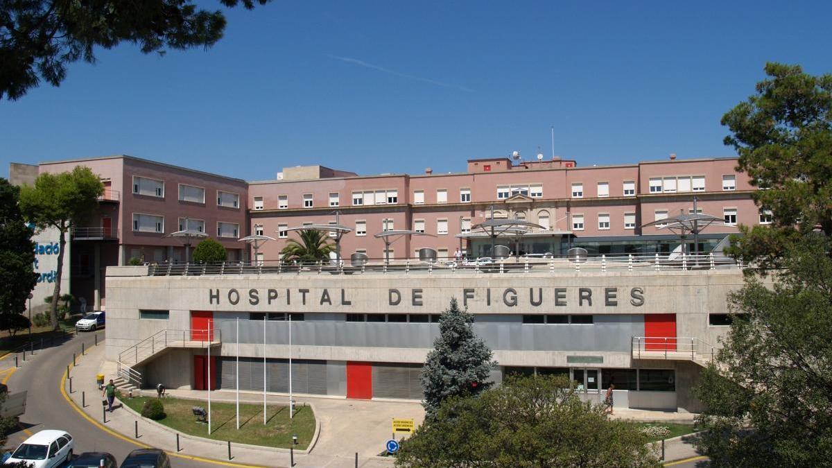 Façana de l'Hospital de Figueres.