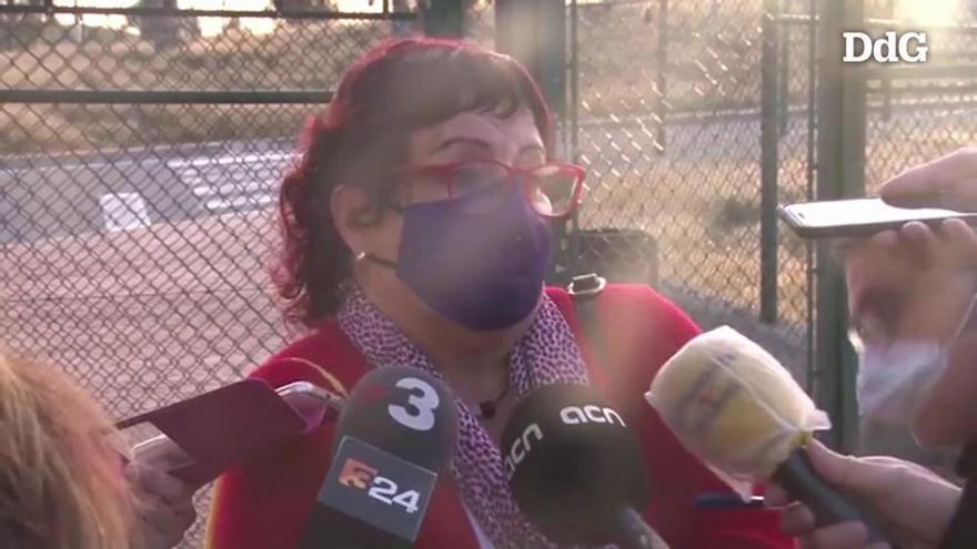 Bassa demana el vot independentista a la sortida de la presó