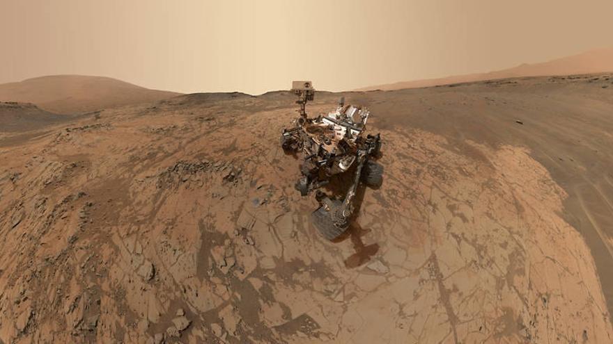 'Curiosity' encuentra por primera vez nitrógeno en Marte