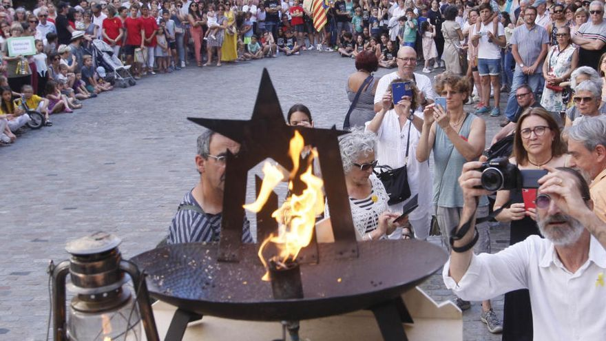 Girona no tindrà cap foguera per Sant Joan i els actes seran mínims