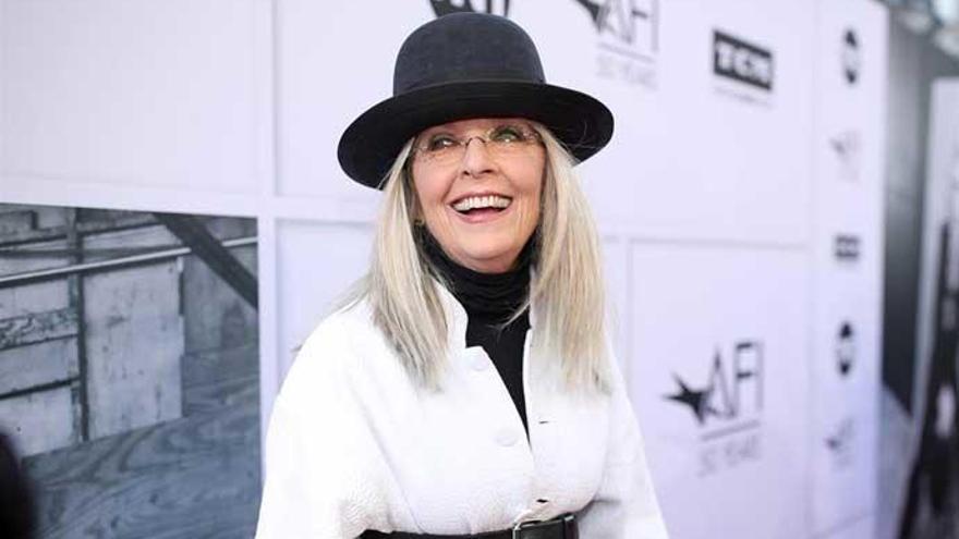 """Diane Keaton: """"Woody Allen es mi amigo y continúo creyéndole"""""""
