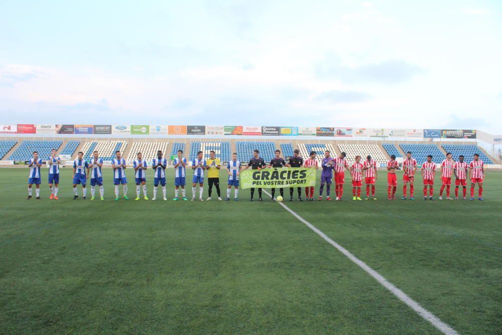 Figueres i Girona B empaten a Vilatenim