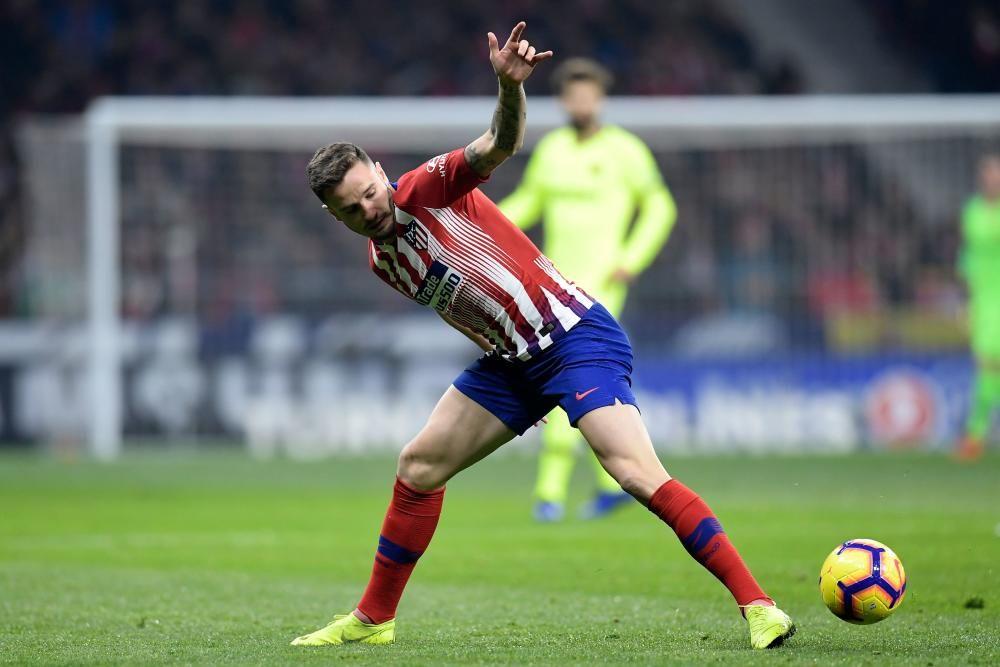 Las imágenes del Atlético de Madrid - Barcelona.