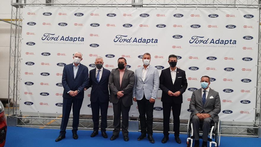 Ford presenta en Almussafes el nuevo tour de vehículos adaptados