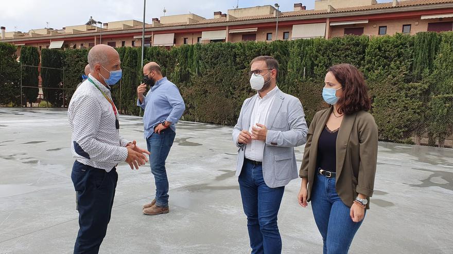 Arranca la remodelación del Complejo Deportivo de Torrecilla en Lorca
