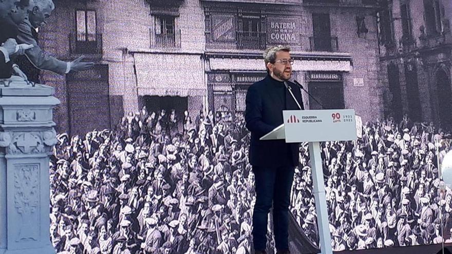 """Aragonès urge a tejer """"grandes consensos"""" para formar un nuevo Govern"""