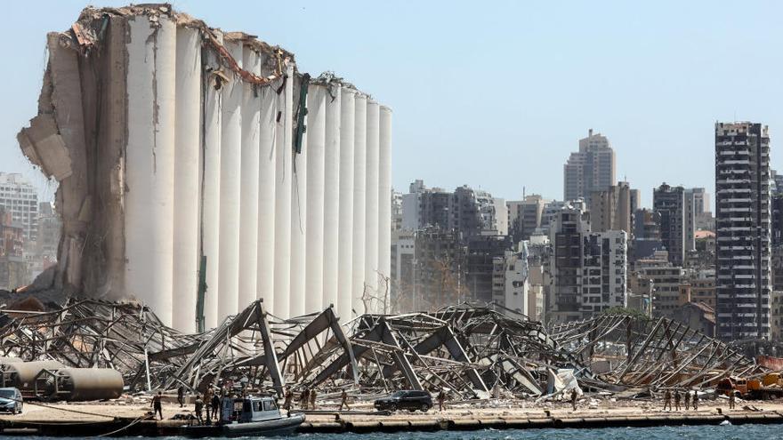 La comunitat internacional recapta uns 200 milions d'euros per a la reconstrucció de Beirut