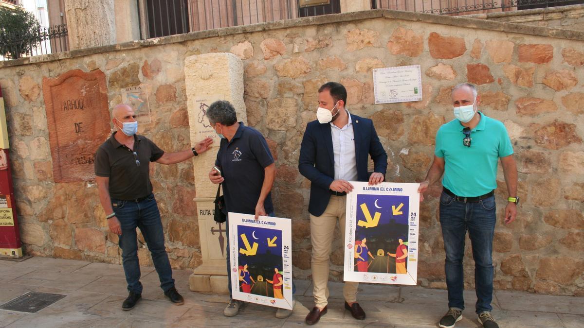 Roque Moya, José Antonio González, Francisco Morales y Juan Cánovas.