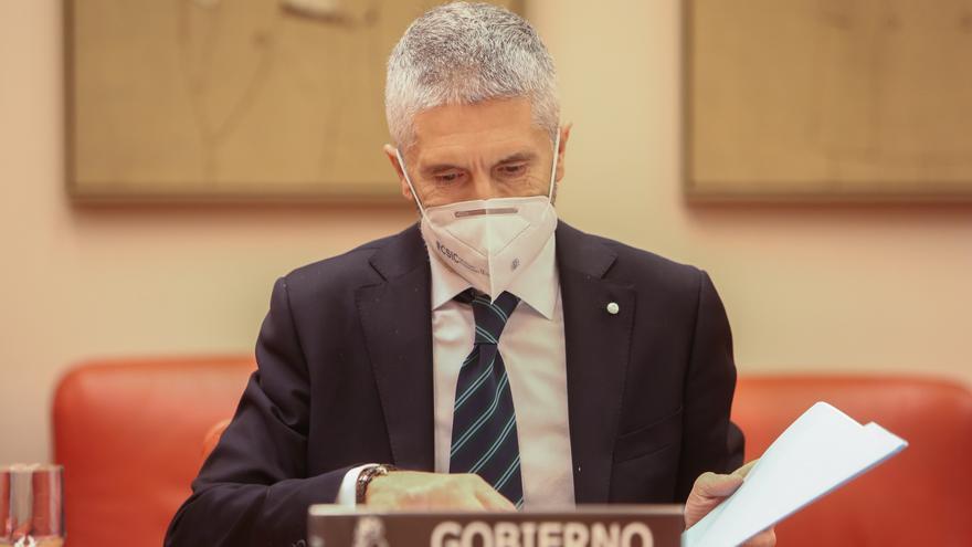 """Marlaska dice que no tiene """"ninguna voluntad"""" de dimitir tras la anulación de la destitución de De los Cobos"""