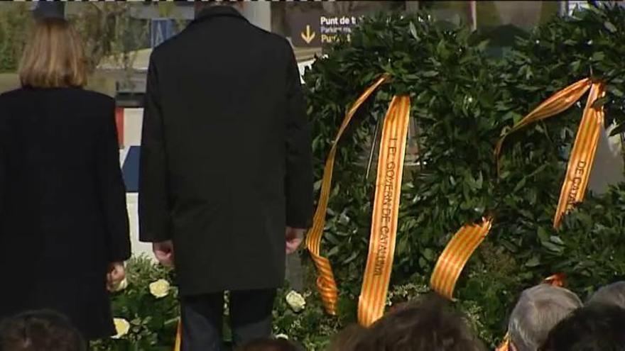 Emotivo homenaje a las víctimas de Germanwings en el primer aniversario