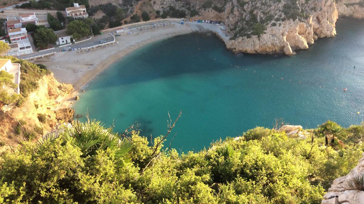 La Granadella, en Xàbia, repite bandera azul en 2021