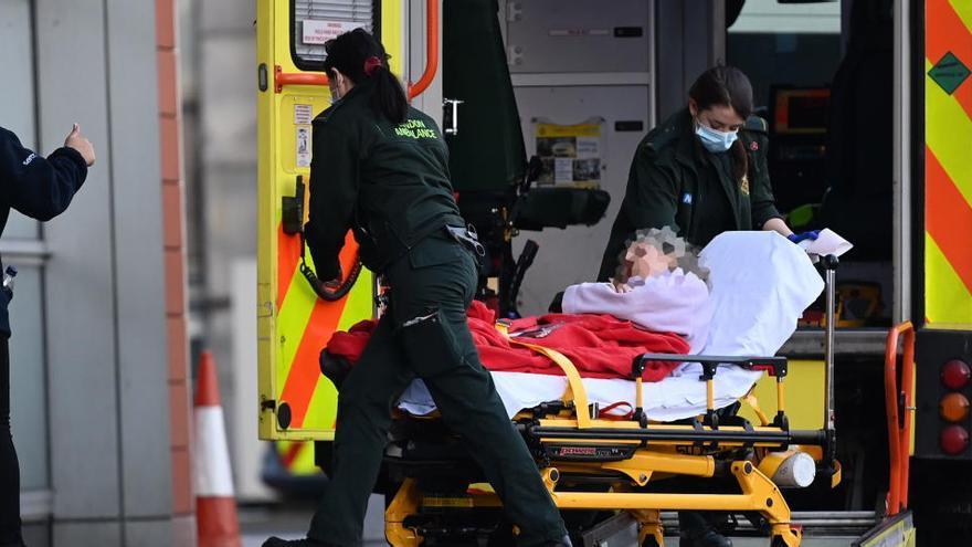 Reino Unido registra una significativa bajada de nuevos casos, hasta 22.195
