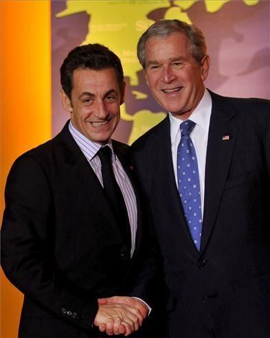 Zapatero y Bush, cara a cara en la cumbre del G-20