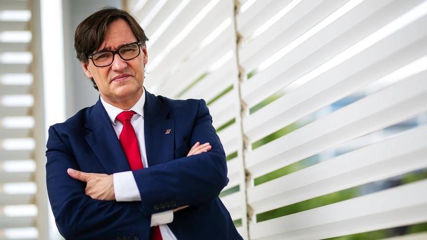 """Salvador Illa, sobre Aragonès: """"No es posible ser independentista y ser de izquierdas"""""""