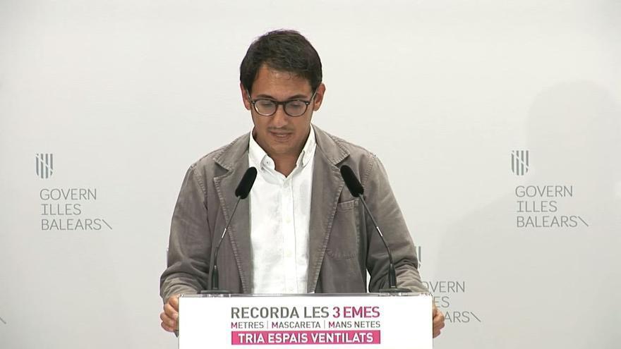 En directo   Iago Negueruela comparece en rueda de prensa tras la Mesa de Diàleg Social
