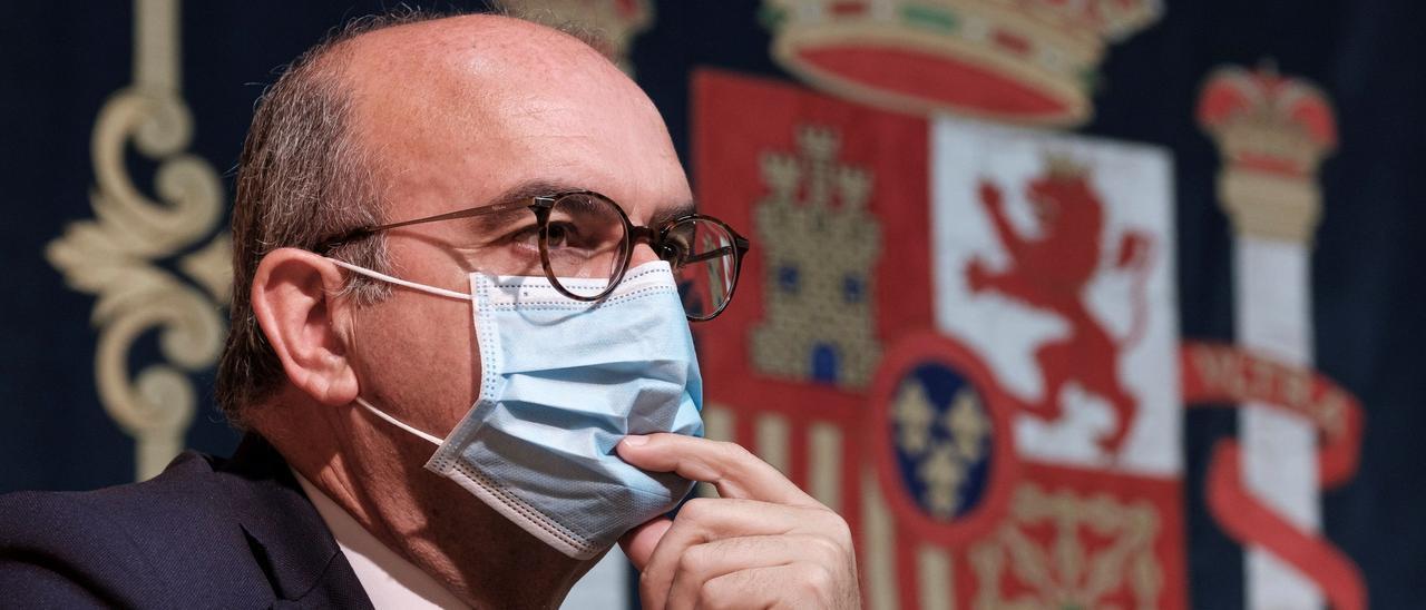 Anselmo Pestana, delegado del Gobierno en Canarias.