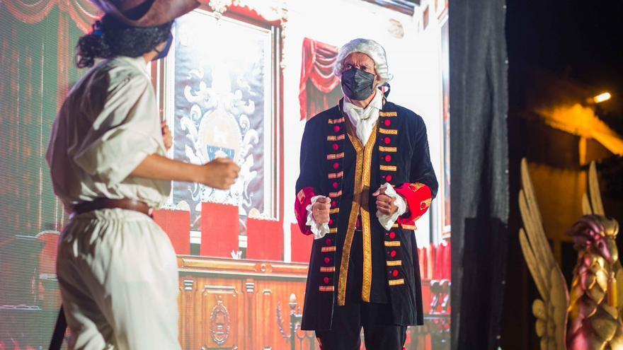El alcalde de Elche, Carlos González, actor por un día