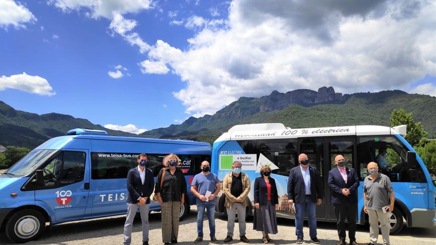 El servei de transport públic a la demanda arriba a la Garrotxa