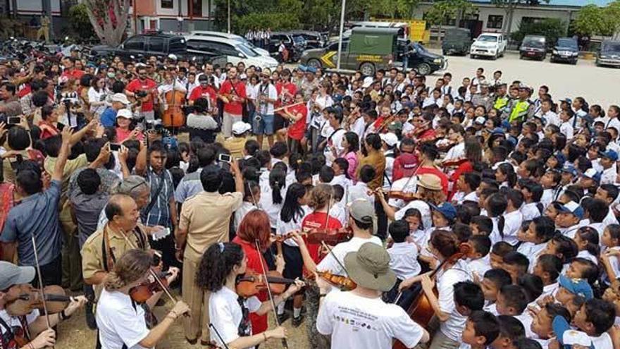 """La OCAS afianza su """"vínculo"""" con Indonesia"""