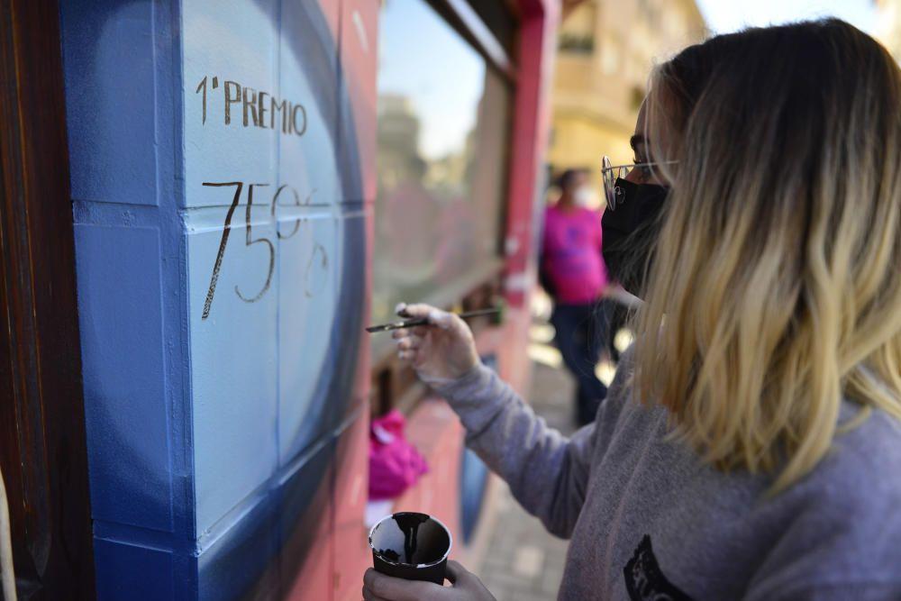 Lotería de Navidad en Murcia: Así se ha vivido en El Perolo