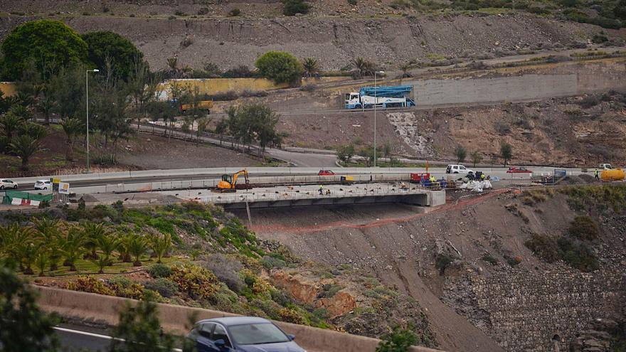 Los carriles del puente del Tívoli estarán listos para el tráfico en una semana
