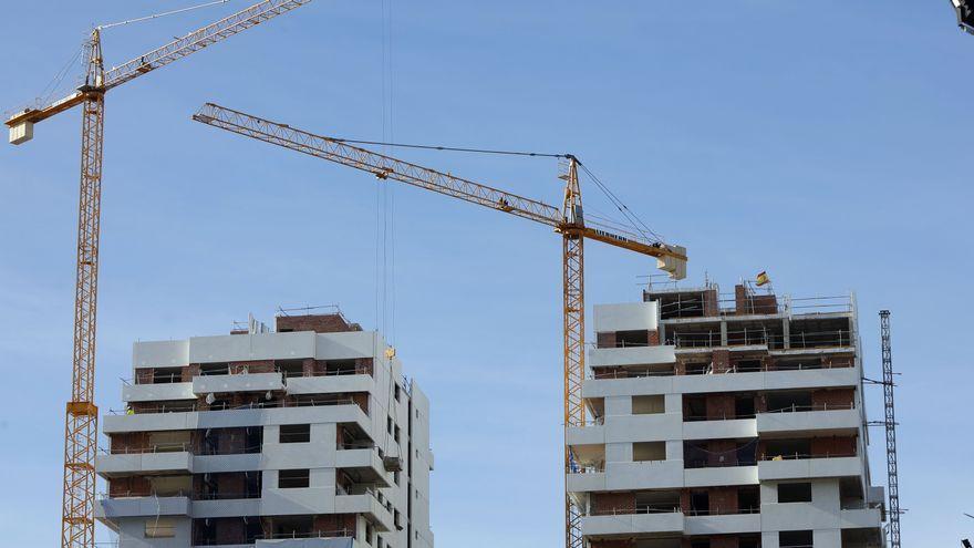 La fiebre inmobiliaria impulsa la construcción de 5.267 viviendas en València