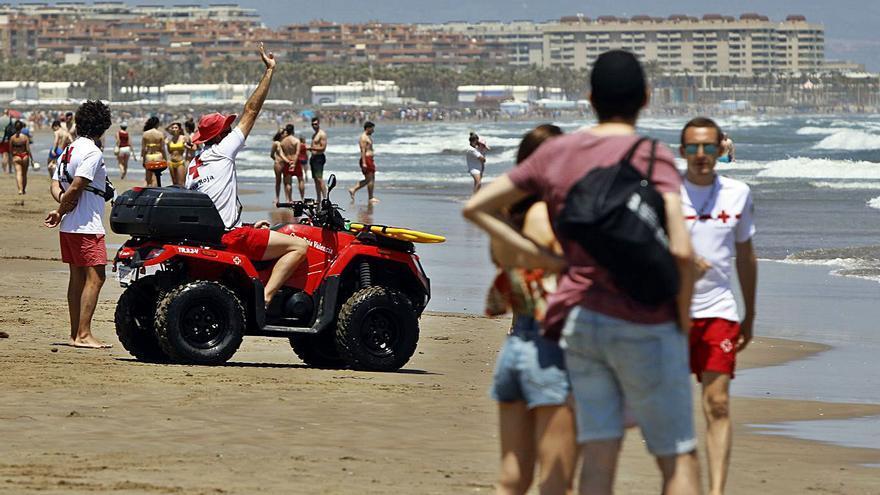 Cruz Roja acumula  517 rescates en las playas
