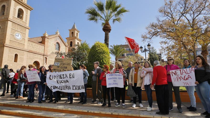 La Generalitat retira el contrato a la empresa de limpieza del geriátrico de Torrevieja y se hace cargo de la plantilla a través de la empresa pública Tragsa
