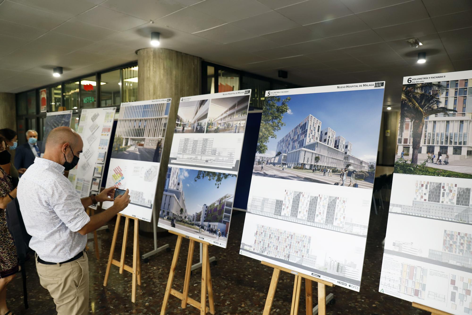 Presentación del anteproyecto del tercer hospital de Málaga.