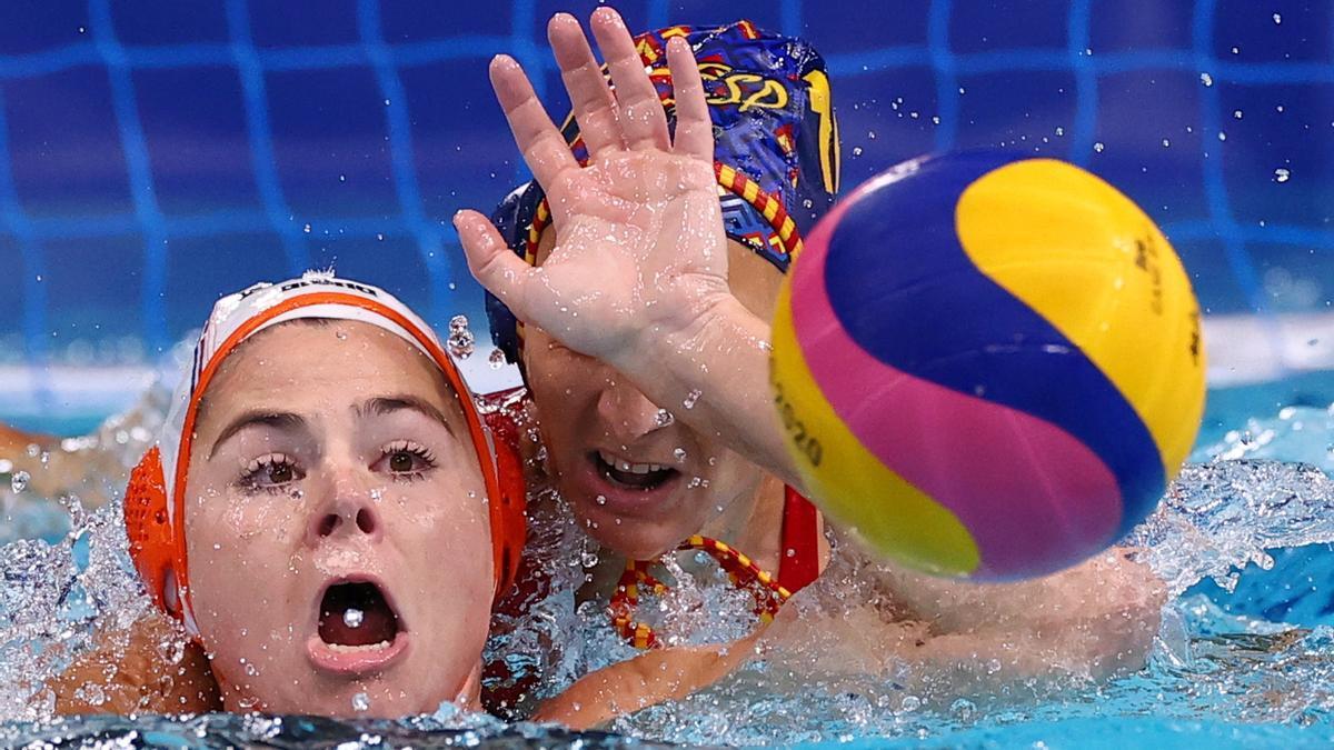 España sufre primera derrota en los JJOO.