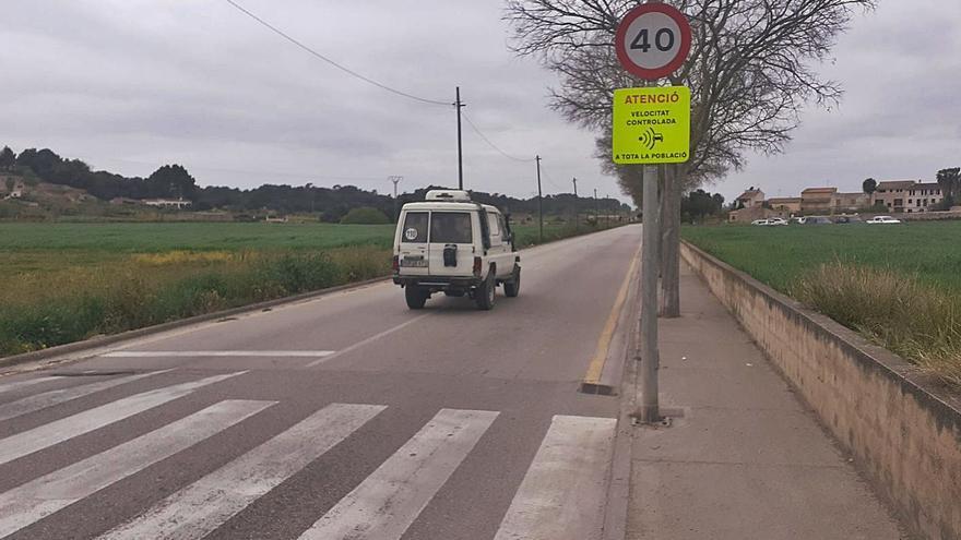 Malestar en Sineu por el incremento de multas a raíz de un nuevo radar móvil