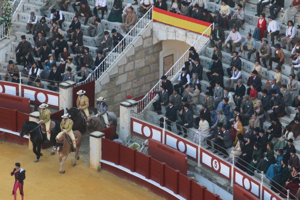 Este martes continúa el rodaje de 'Genius' en la plaza de toros de La Malagueta