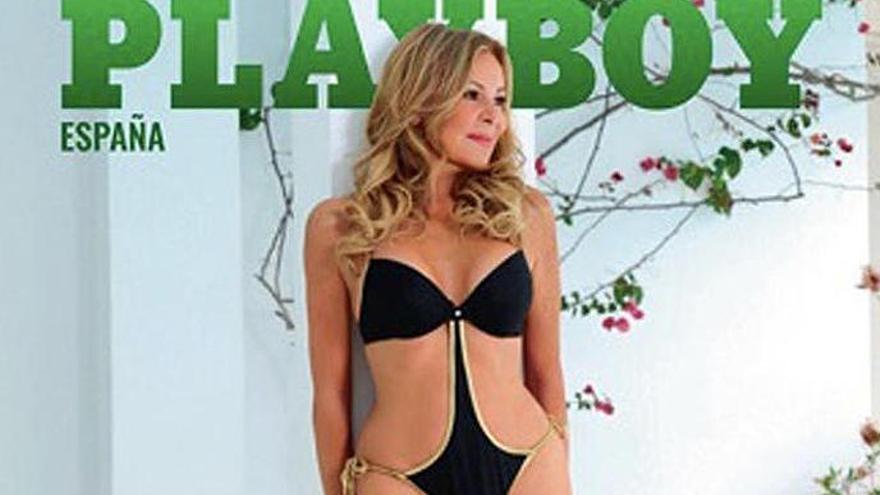 Ana Obregón, portada de Playboy Espanya