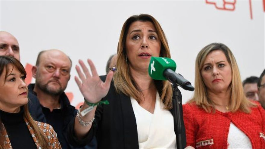 Díaz cierra la puerta de su dimisión y pide el apoyo de Ciudadanos