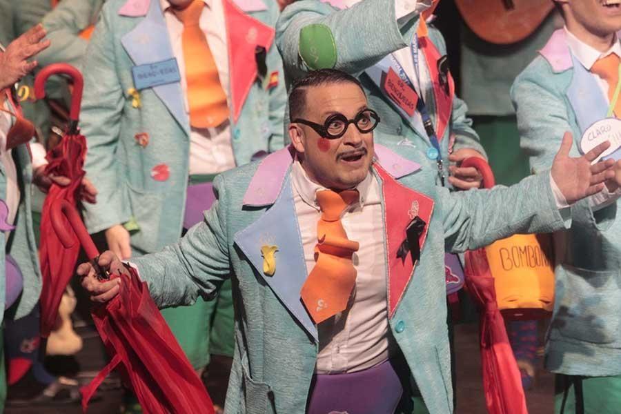 Tercera función de los preliminares del Concurso de Carnaval