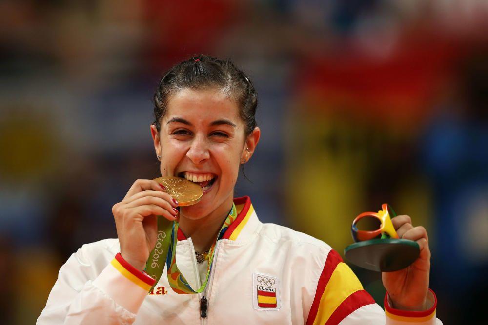 Carolina Martín: Oro en badminton